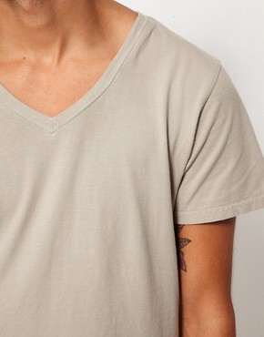 Image 3 of Two Angle V-Neck T-Shirt
