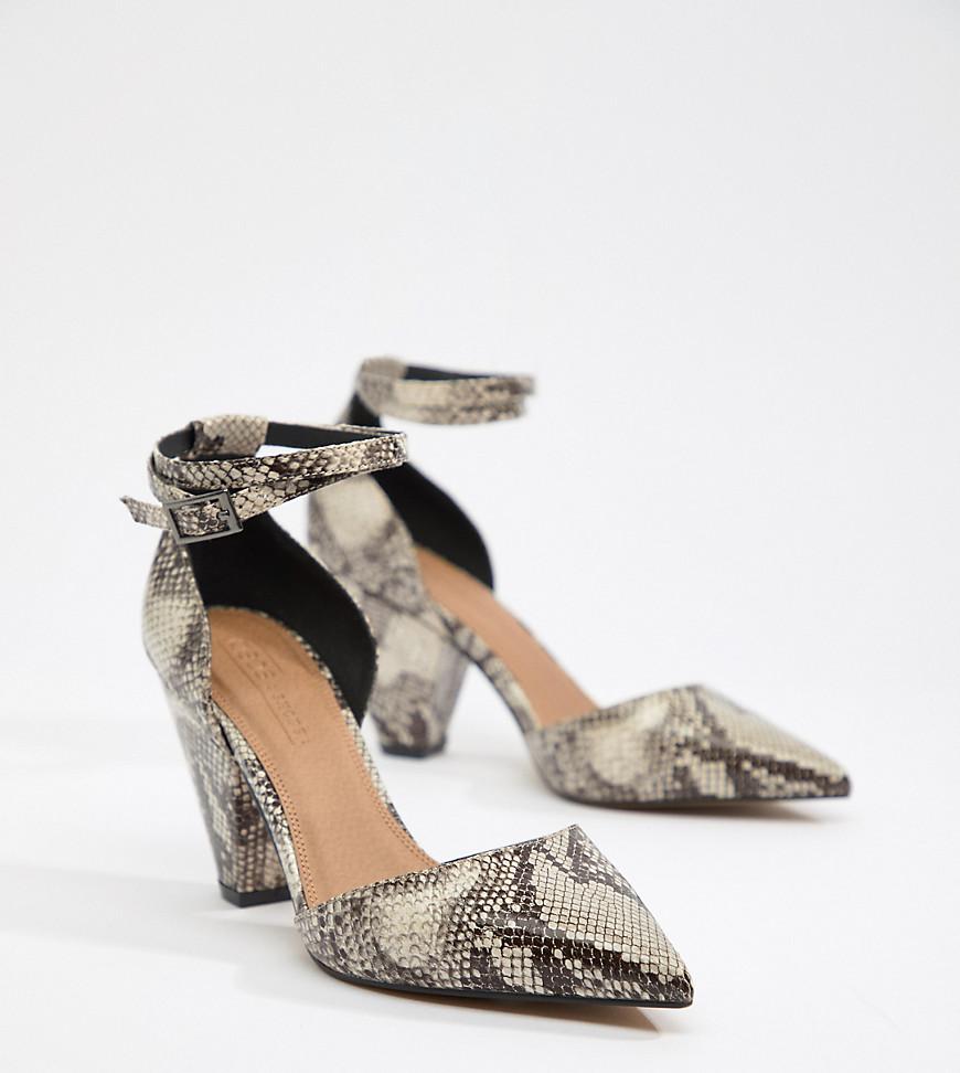 asos design - Speakeasy - Schuhe mit mittelhohem Absatz