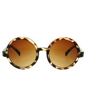 Image 2 ofASOS Round Sunglasses