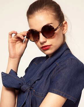 Image 3 ofASOS Round Sunglasses