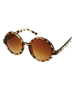 Image 1 ofASOS Round Sunglasses
