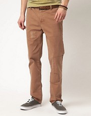 ASOS Straight Chino with Patchwork Details