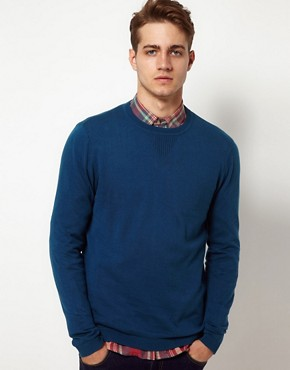 Image 1 ofASOS Bound Crew Neck Jumper