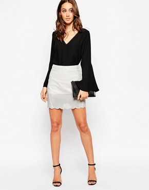 Millie Mackintosh PU Skirt
