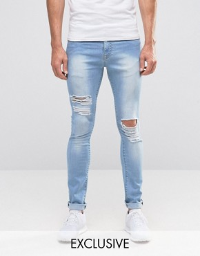 Ripped Jeans For Men | Destroyed & Distressed Jeans | ASOS