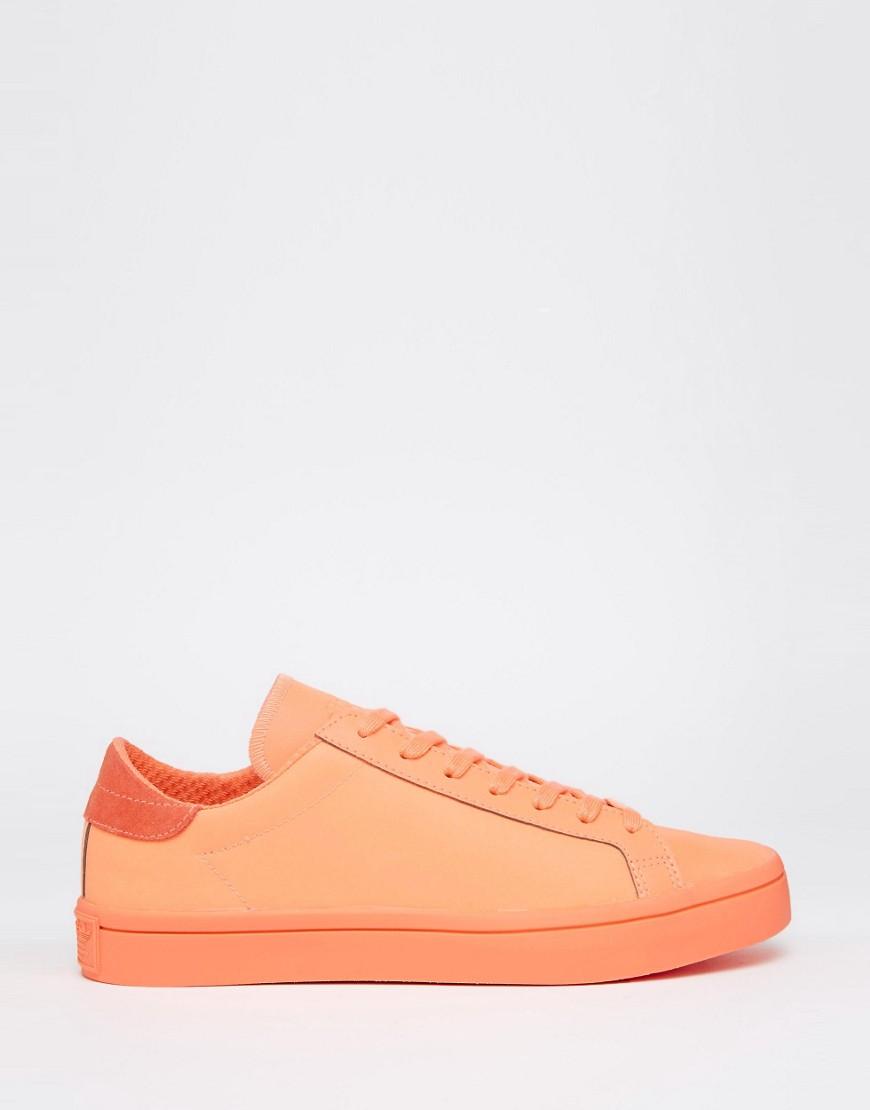 Adidas Originals Orange Trainers