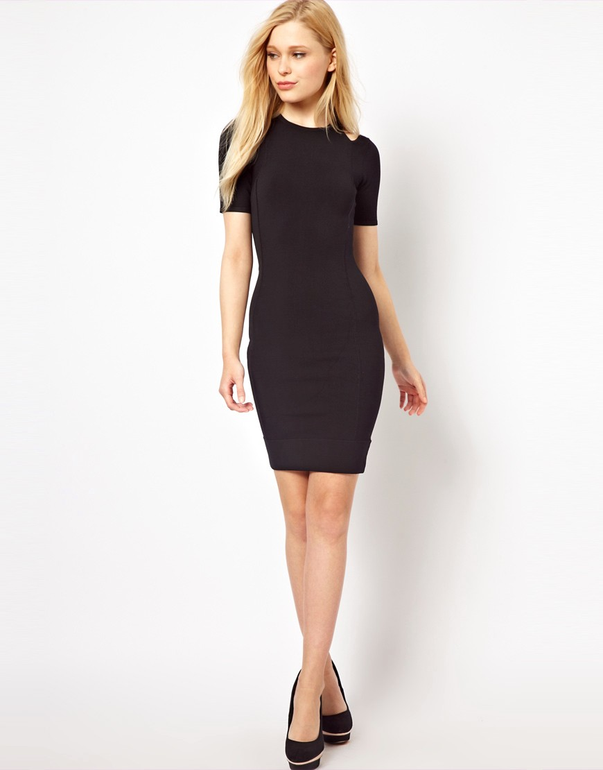 Image 4 of French Connection Dress With Cold Shoulder