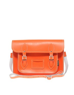 Image 1 ofZatchels Leather 13&quot; Satchel