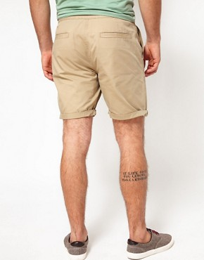 Image 2 ofASOS Chino Shorts With Belt