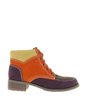 Image 4 ofASOS ATLAS Hiker Ankle Boots