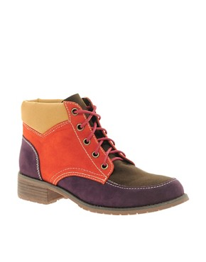 Image 1 ofASOS ATLAS Hiker Ankle Boots