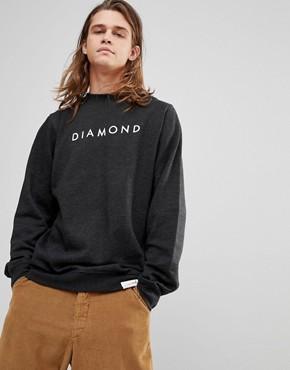 Diamond Supply Sweatshirt With Futura Logo