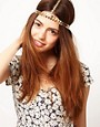 Image 1 ofASOS Multi Chain Crown Headband