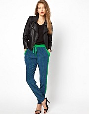 Vanessa Bruno Ath Sporty Silk Trousers