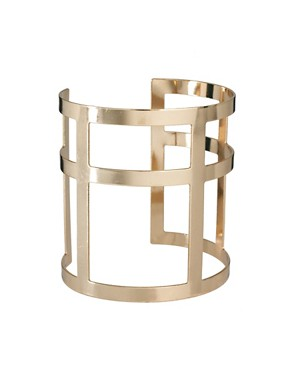 Image 1 ofASOS Cross Cage Cuff