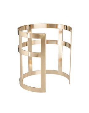 Image 2 ofASOS Cross Cage Cuff