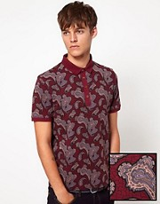ASOS Polo With All Over Print