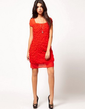 Image 4 ofJovonna Textured Dress