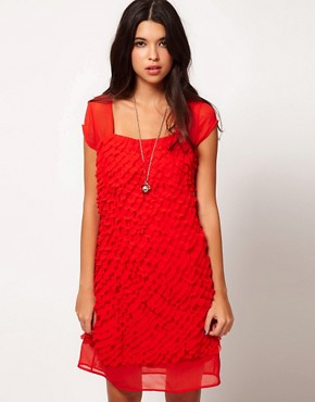 Image 1 ofJovonna Textured Dress