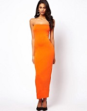 ASOS Bandeau Strap Maxi Dress