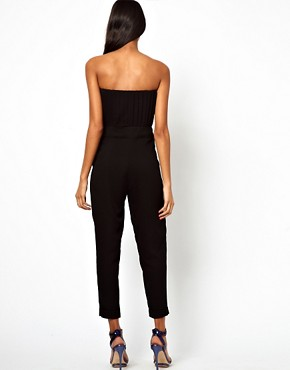 Image 2 ofASOS Pleat Bust Jumpsuit