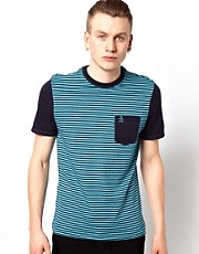 Original Penguin T-Shirt with Contrast Pocket