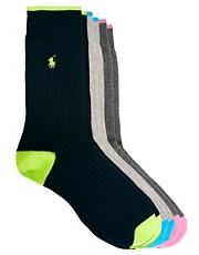 Polo Ralph Lauren  Socken mit Polo-Emblem im 3er-Pack