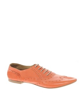 Image 1 ofBertie Lyon Lace Up Flat Shoes