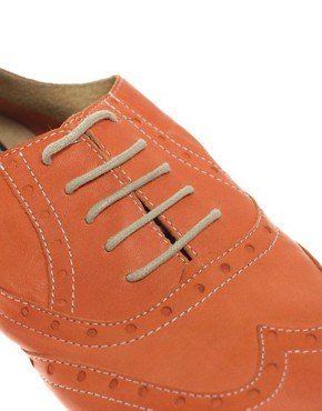 Image 2 ofBertie Lyon Lace Up Flat Shoes