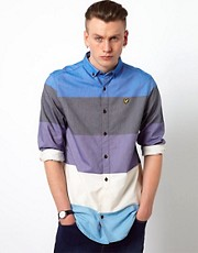 Lyle &amp; Scott Vintage Shirt with Wide Stripe