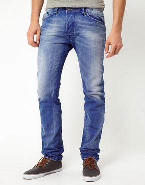Image 1 ofDiesel Jeans Darron 811V Regular Slim Light Exposure