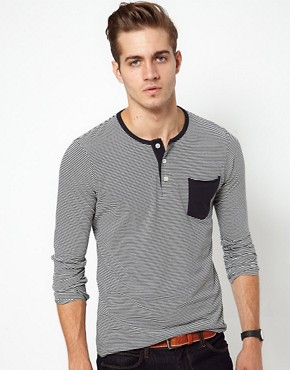 Image 1 ofJack &amp; Jones Long Sleeve Top