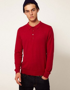 Image 1 ofASOS Polo Neck Jumper