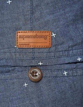 Image 3 ofSupremebeing Scarper Chambray Shorts