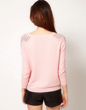 Image 2 ofRiver Island Shoulder Stud Jumper