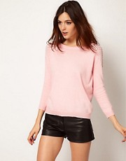 River Island Shoulder Stud Sweater