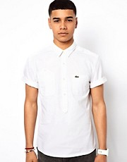 Lacoste Live Overhead Shirt in Chambray