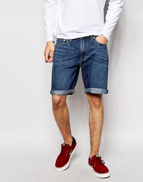 Waven Denim Short Summer Stone Wash