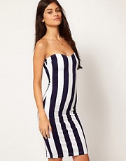 Motel Stripe Ursula Dress
