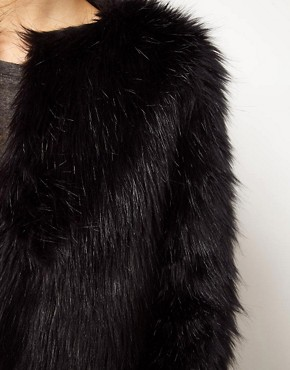 Image 3 ofPepe Jeans Fur Coat