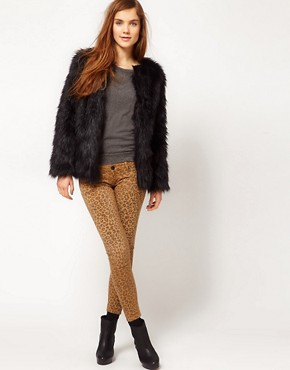 Image 4 ofPepe Jeans Fur Coat