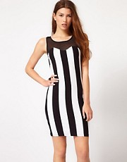 AX Paris Stripe Bodycon Dress