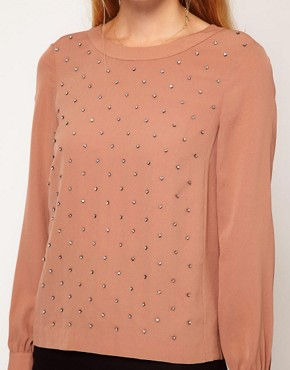 Image 3 ofWhistles Lilly Diamonte Top