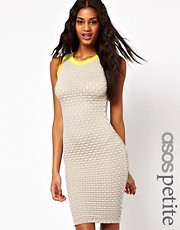 ASOS PETITE Exclusive Textured Bodycon Dress