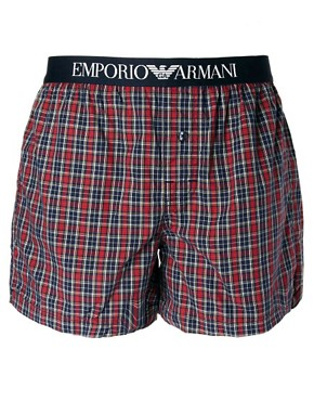 Image 1 ofEmporio Armani Woven Boxer
