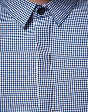 Image 2 ofASOS Slim Fit Gingham Shirt