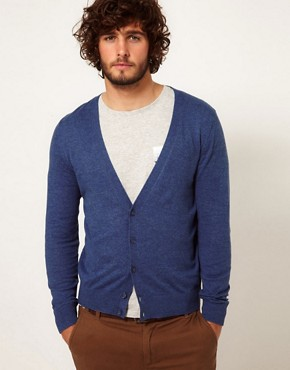 Image 1 ofASOS Cardigan with Elbow Patches