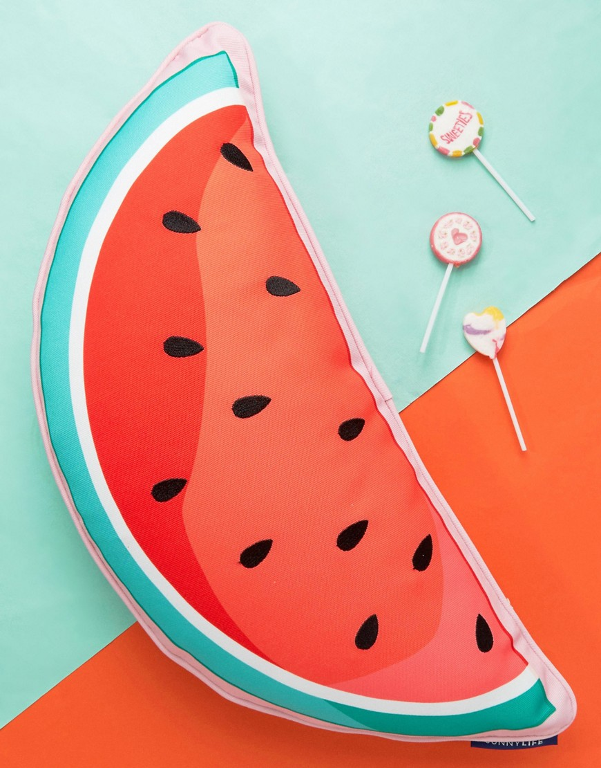 sunnylife-watermelon-cushion-multi