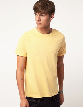 Bild 1 von ASOS  T-Shirt mit verblichenem Design