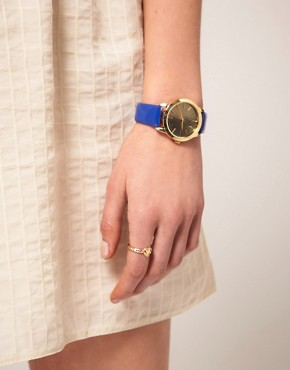 Image 2 of ASOS Patent Color Watch
